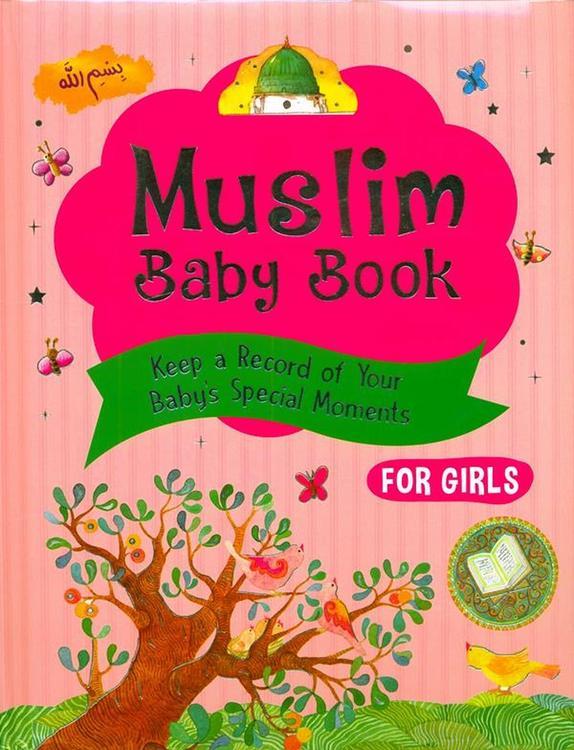Muslim Baby Record Book (flickor)