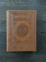 Koranen på arabiska med QR-kod stor kamel