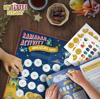 My Little Legacy: Ramadan Kids Journal & Activity Book