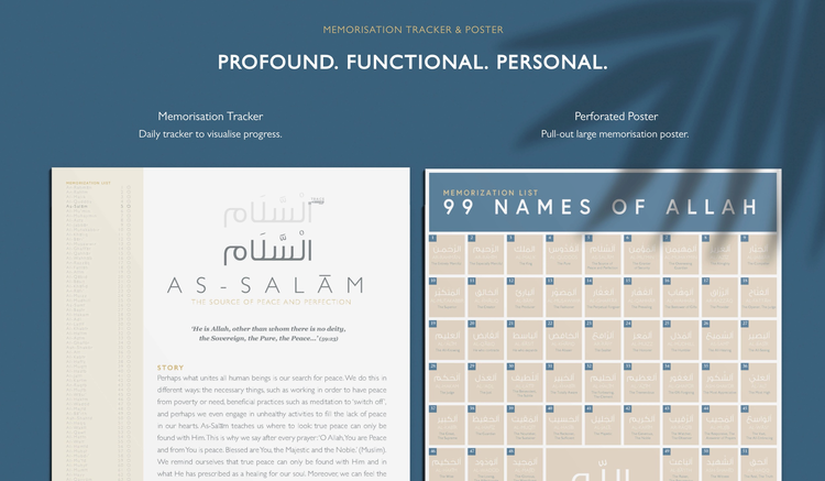 The 99 Names of Allah Guided Journal