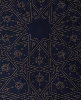 Midnatt bågformad bönematta