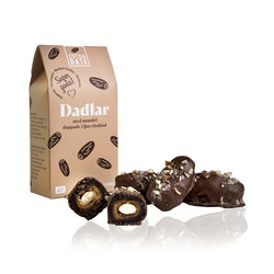 Ljus choklad och mandel dadlar