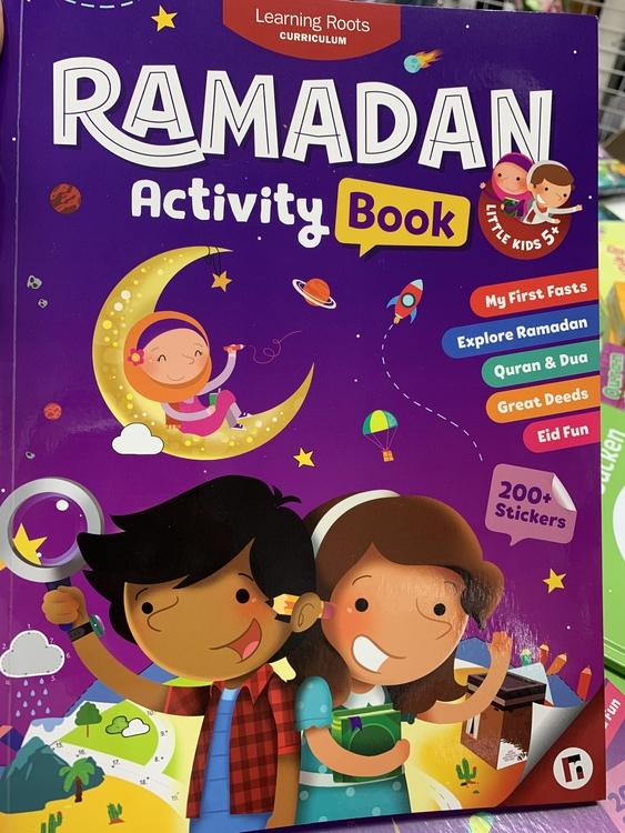 Ramadan Activity Book   Age 5+