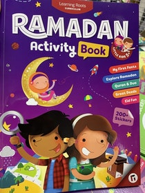 Ramadan Activity Book | Age 5+