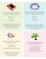 Quran Quiz Flash Cards