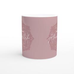 Bismillah mugg rosa svenska