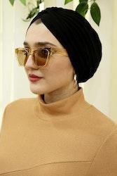 Lyx turban svart