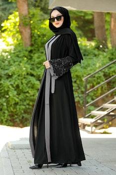 Deema Abaya Svart