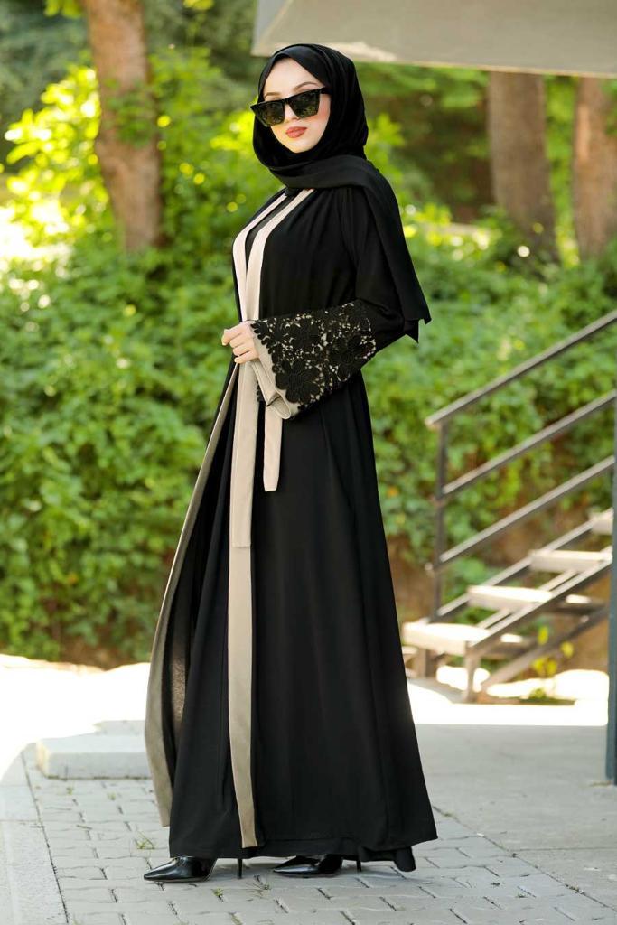 Deema Abaya Beige