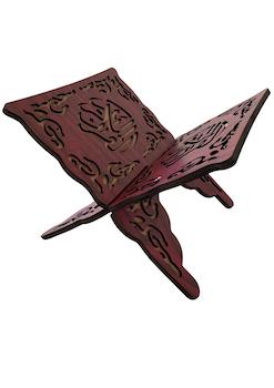Koranställ Kalligraf vinröd