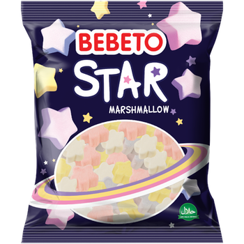 Bebeto Marshmallow Star