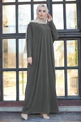 Elif Abaya Mörkgrå