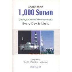 More than 1000 sunan pocket