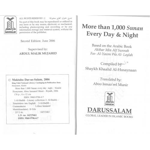 More than 1000 sunan pocket