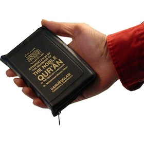 The Noble Quran Pocket - Zipper