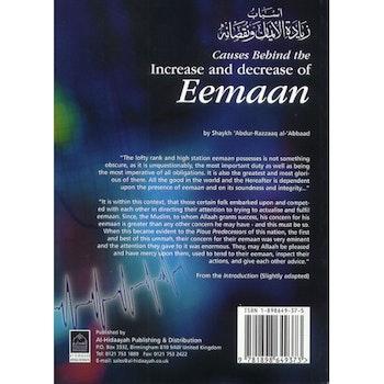 Causes Behind the Increase & Decrease of Eemaan