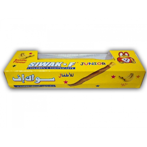 Siwak-F junior Banana Tandkräm