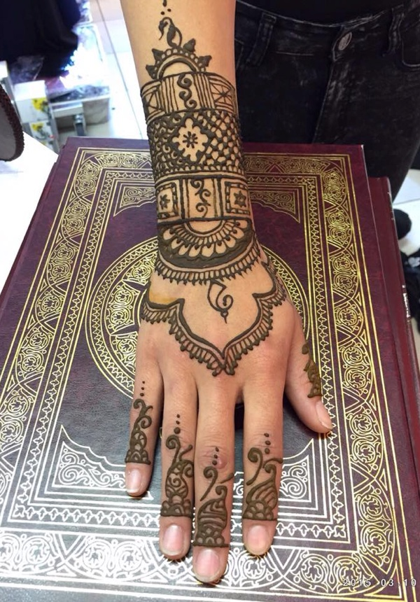 Henna Strut (3 st)