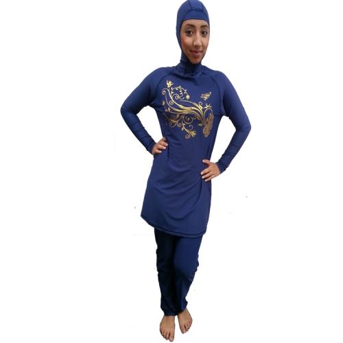 Burkini Midnattblå