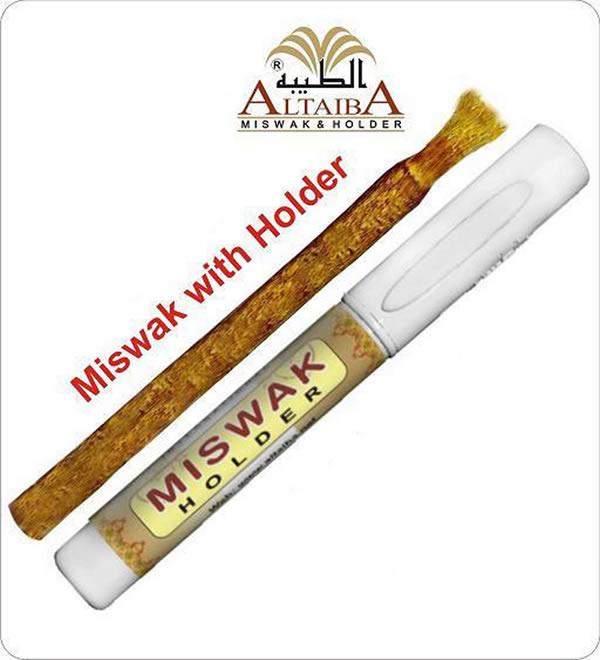 Al Taiba Miswak + Hållare