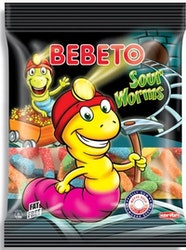 BEBETO Sour Worms