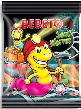 BEBETO Sour Worms