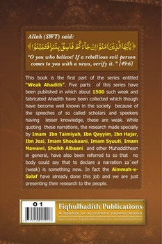 200 Famous Weak Hadith
