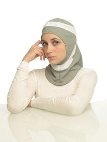 Runner Grå & Vit Sport Hijab