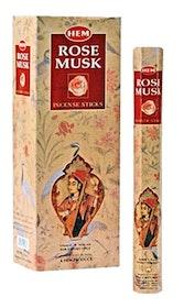 Rose Musk rökelsepinnar