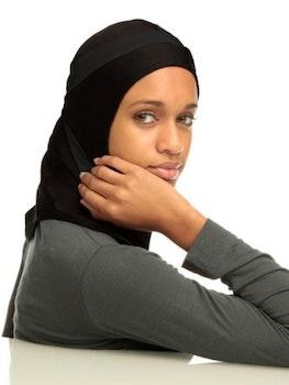 Swim Svart Sport Hijab