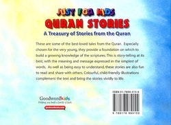 Just for Kids Quran Stories: A Treasury of Stories from the Quran