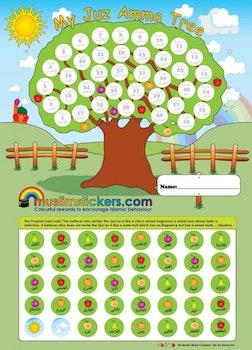 My Juz Amma Tree