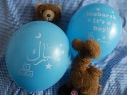 Mubarak it's a Boy Ballonger