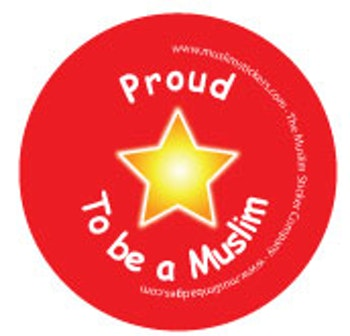Proud to be a Muslim knappnål
