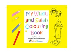 My Wudu and Salah målarbok