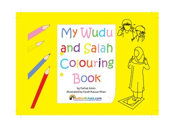 My Wudu and Salah målarbok