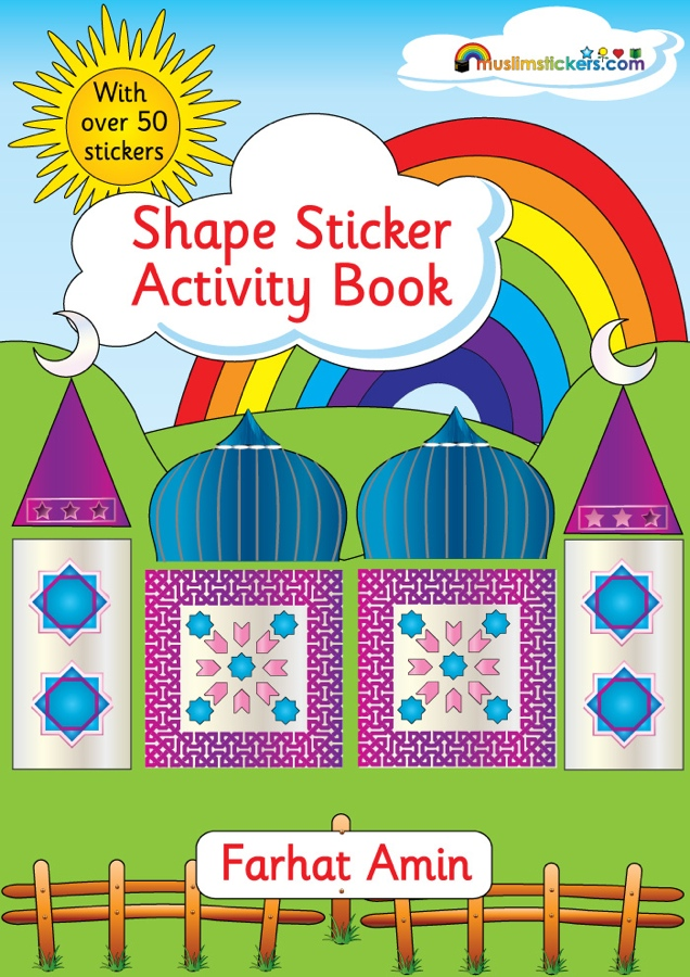 Shapes Sticker Activity Book