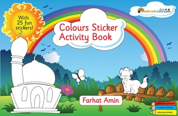 Colours Sticker Activity Book