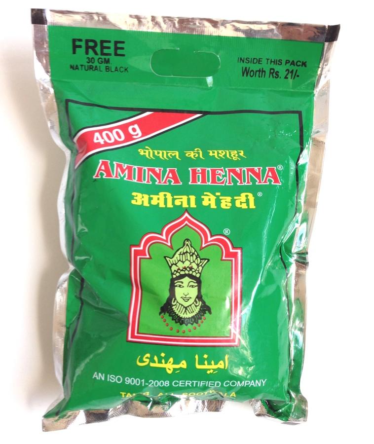 Amina Henna pulver 400g