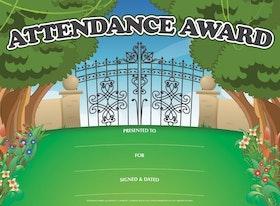 Attendance Award Certificate