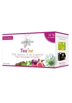 Vitt Te med svart frö