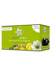 Grönt te med svart frö