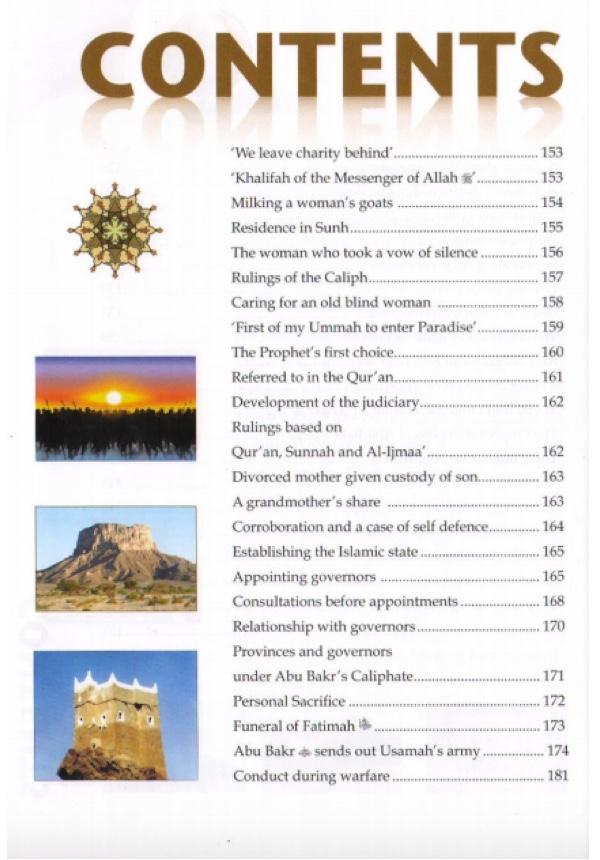 Golden Stories of Abu Bakr