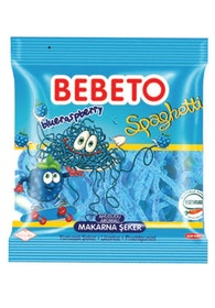 Bebeto Spaghetti Blåbär