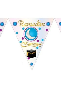 Ramadan Kareem Flaggor