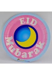 Eid Mubarak Papperstallrikar 5st