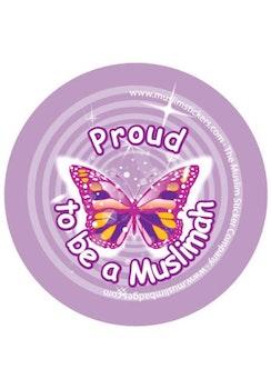 Proud to be a Muslimah Lila Knappnål