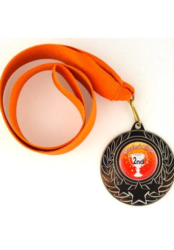 MashaAllah Silvermedalj (Orange)
