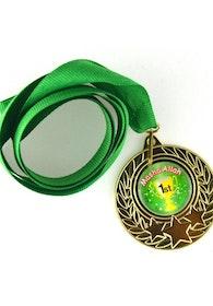 MashaAllah Guldmedalj (Grön)