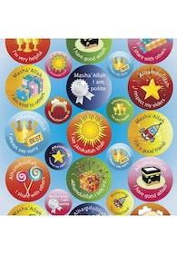 Gott Uppförande Klistermärken